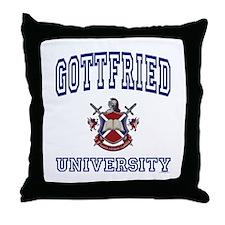GOTTFRIED University Throw Pillow