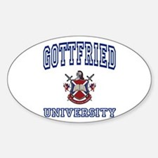GOTTFRIED University Oval Decal