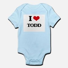 I Love Todd Body Suit