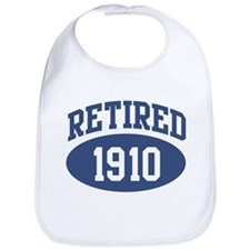 Retired 1910 (blue) Bib