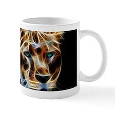 Lioness Fractal Flame Art Mug Mugs
