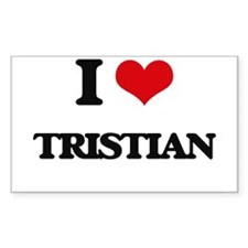 I Love Tristian Decal