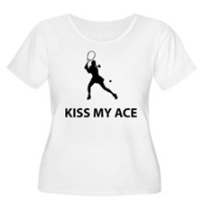 Kiss my ace Plus Size T-Shirt