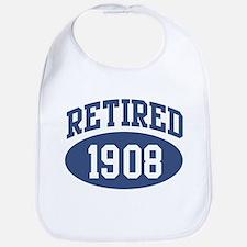 Retired 1908 (blue) Bib