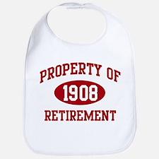1908: Property of Retirement Bib