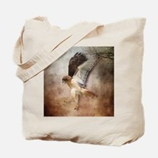 Red Tail Hawk in Flight Tote Bag