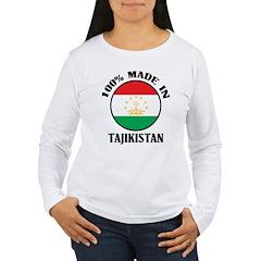 Made In Tajikistan Women's Long Sleeve T-Shirt