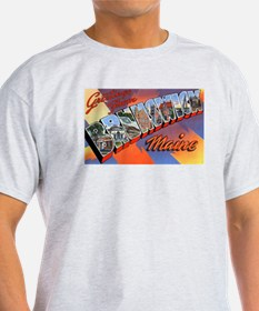 Brunswick Maine Greetings (Front) T-Shirt
