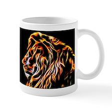 Lion Fractal Flame Art Mug Mugs