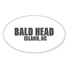 Bald Head Island Oval Decal