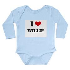 I Love Willie Body Suit