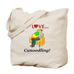 I Love Canoodling Tote Bag