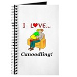 I Love Canoodling Journal