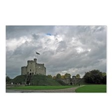 Medieval Welsh Castle  Postcards (Package of 8)