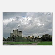 Medieval Welsh Castle  Postcards (Package of 8)