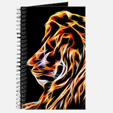 Lion Fractal Flame Art Journal