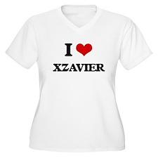 I Love Xzavier Plus Size T-Shirt