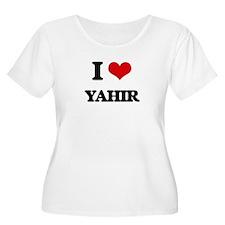 I Love Yahir Plus Size T-Shirt