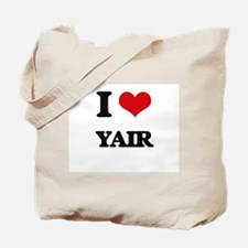 I Love Yair Tote Bag