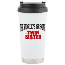 Cute Greatest sister Travel Mug