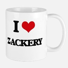 I Love Zackery Mugs