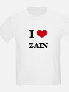 I Love Zain T-Shirt