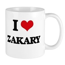 I Love Zakary Mugs