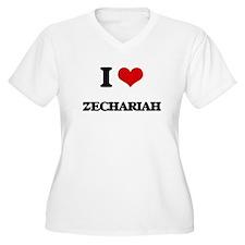 I Love Zechariah Plus Size T-Shirt