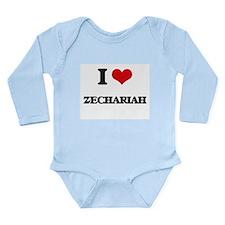 I Love Zechariah Body Suit