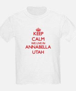 Keep calm we live in Annabella Utah T-Shirt