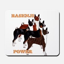 Basenji power Mousepad