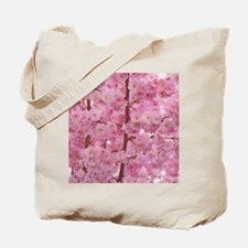 Cherry Blossoms pink Tote Bag