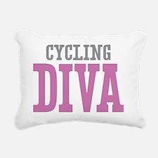 Cycling DIVA Rectangular Canvas Pillow