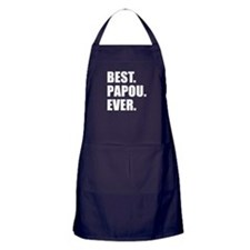 Best. Papou. Ever. Apron (dark)
