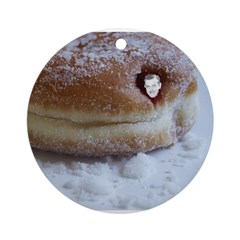 Dick Bruce in a Donut Ornament (Round)