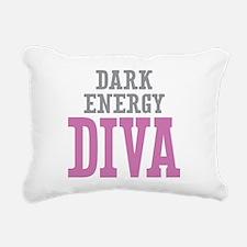 Dark Energy DIVA Rectangular Canvas Pillow