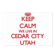 Keep calm we live in Ceda Postcards (Package of 8)