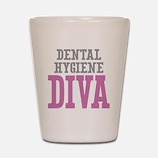 Dental Hygiene DIVA Shot Glass