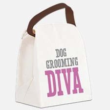 Dog Grooming DIVA Canvas Lunch Bag
