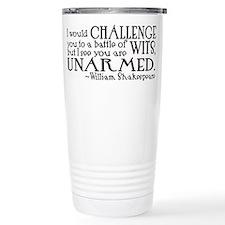 Unique Shakespeare Travel Mug