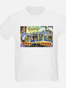 Camden New Jersey (Front) T-Shirt