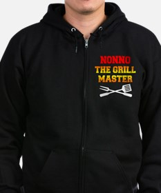 Nonno The Grill Master Zip Hoodie