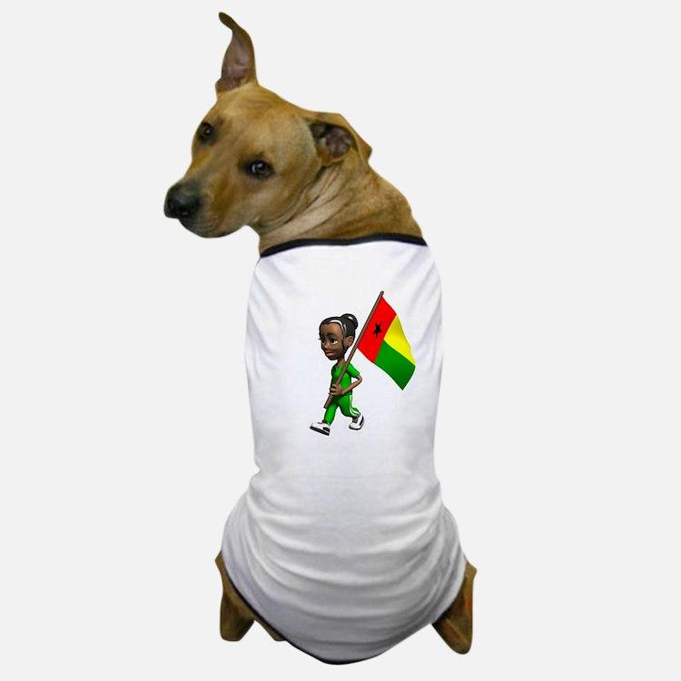 Guinea-Bissau Girl Dog T-Shirt