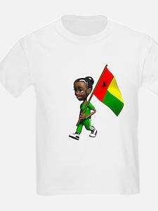 Guinea-Bissau Girl T-Shirt