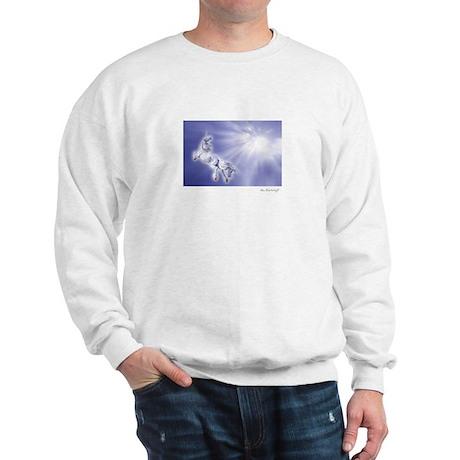 Unicorn into the Light ~ Sweatshirt