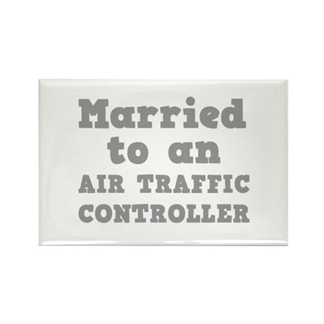 Married to an Air Traffic Controller Rectangle Mag