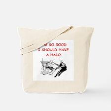 hockey joke Tote Bag
