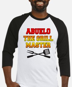 Abuelo The Grill Master Baseball Jersey