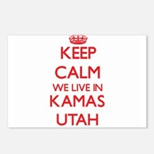 Keep calm we live in Kama Postcards (Package of 8)