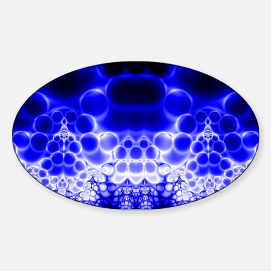Strange Blue Bubble Horizon Decal